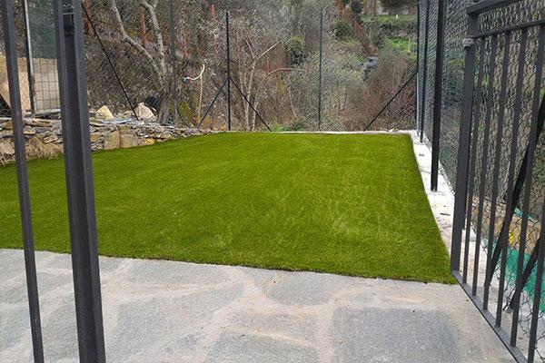 erba sintetica a serravalle