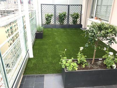 Prato erba sintetica Genova